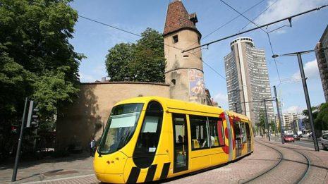 Mulhouse tram train