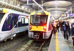 Transdev Auckland rail platform passangers