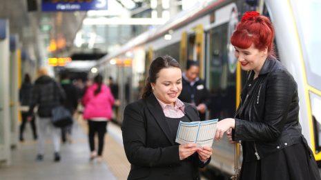 Auckland rail customer