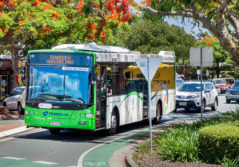 Transdev brisbane bus queensland australasia