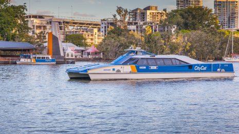 Transdev Australasia Brisbane Citycat ferry