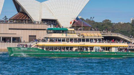 bus, train, ferry, light rail, Australia, New Zealand